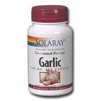 Solaray Garlic 500 MG - 60 Capsules - Garlic