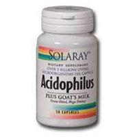 Solaray Acidophilus plus Goat's Milk - 50 Capsules