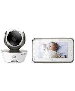 Motorola Wi-Fi Internet Viewing Digital Video Baby Monitor MBP854CONNECT