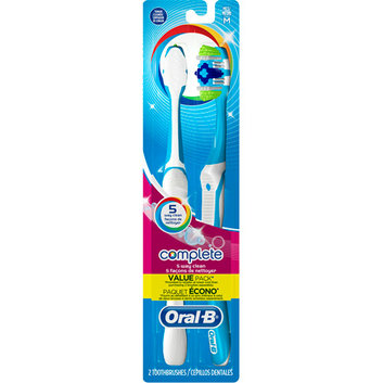 Oral-B Complete 5-Way Clean Medium Toothbrushes