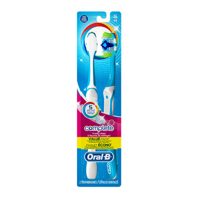 Oral-B Complete 5-Way Clean Medium Toothbrushes