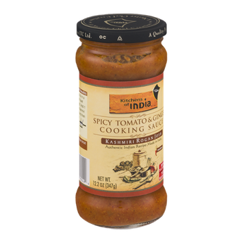 Kitchens Of India Spicy Tomato & Ginger Cooking Sauce