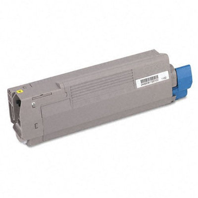 Okidata Corporation 43381901 (43324401 Toner Cartridge, Yellow