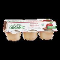 Santa Cruz Organic Cinnamon Apple Sauce - 6 CT