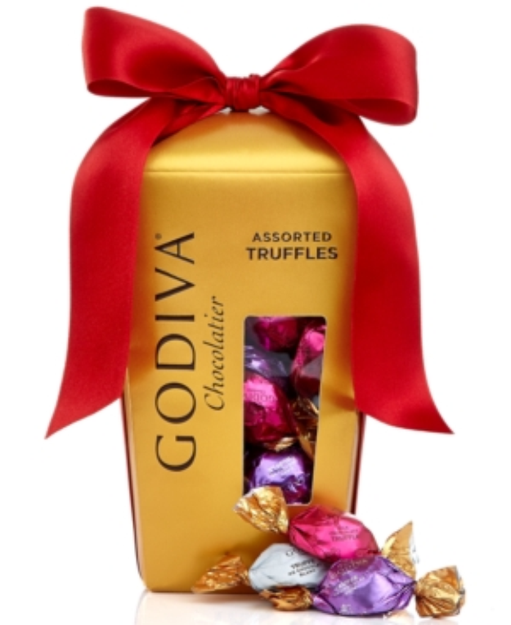 Godiva Chocolatier, Wrapped Assorted Truffles