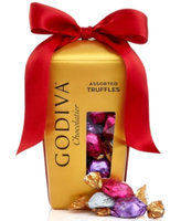 Godiva Chocolatier, Wrapped Assorted Truffles