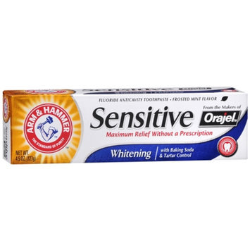 Arm & Hammer Sensitive Whitening with Orajel