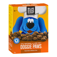 Blue Dog Bakery Doggie Paws Healthy Treats for Dogs (Canadian)