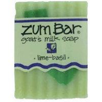 Indigo Wild - Zum Lime-Basil All Natural Goat Milk Soap - 1 Bar 3 oz