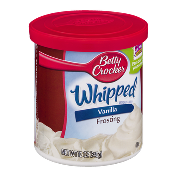 Betty Crocker Whipped Vanilla Frosting