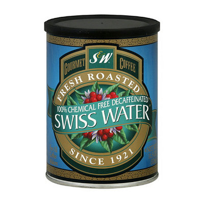S&W Swiss Water Decaf Coffee