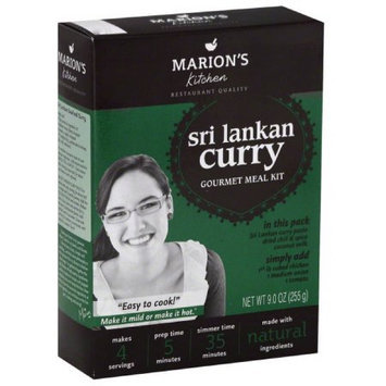 Marions Kitchen Sri Lankan Curry Gourmet Meal Kit, 9 oz, (Pack of 5)
