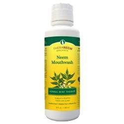 Organix South TheraNeem Mouthwash Herbal Mint Therape