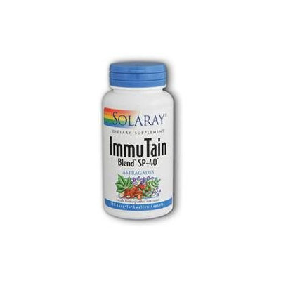 Solaray Immutain Blend Sp-40 - 100 Capsules - Other Immune Support