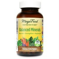Megafood Balanced Minerals Dailyfoods - 90 Tablets - Multiminerals