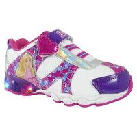 Toddler Girl's Barbie Light Up Sneakers - White 10