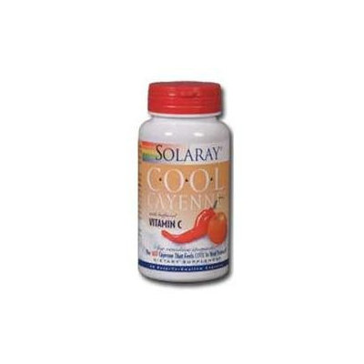 Solaray Cool Cayenne with Buffered C - 60 Capsules