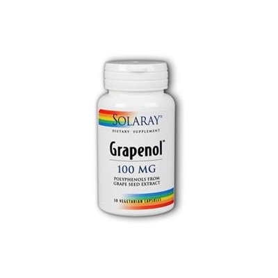 Solaray Grapenol 100 MG - 30 Capsules - Grape Seed Extract