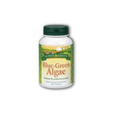 Solaray Blue-Green Algae 500mg Sunny Green 120 Tabs