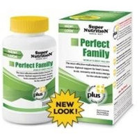 Super Nutrition - Perfect Family - 240 Vegetarian Tablets formerly Perfect Blend