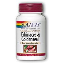 Solaray Echinacea and Goldenseal - 60 Capsules