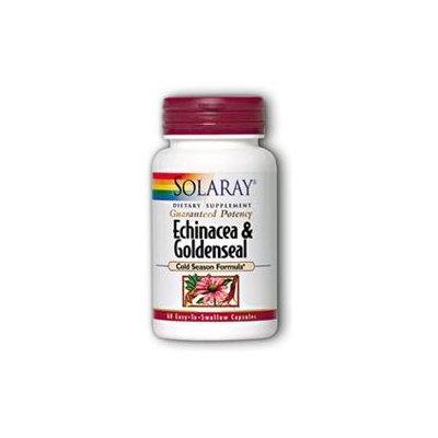 Solaray Echinacea and Goldenseal - 60 Capsules
