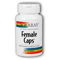 Solaray Female Caps - 60 Capsules - Other Supplements