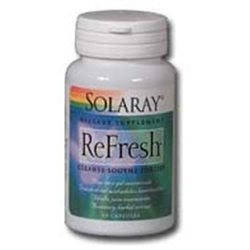 Solaray Refresh - 60 Capsules - Intestinal/Colon Support