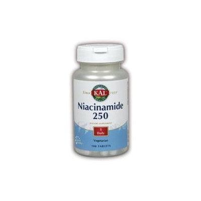 KAL Niacinamide 250 MG - 100 Tablets - Niacinimide