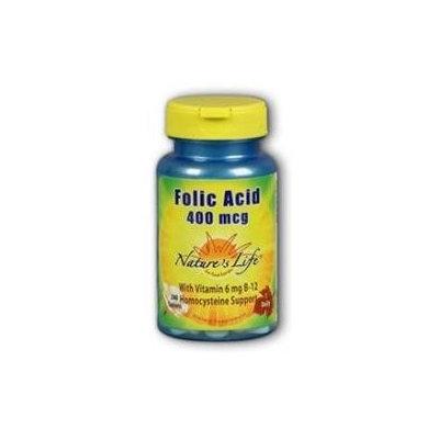 Nature's Life Folic Acid - 400 mcg - 200 Tablets
