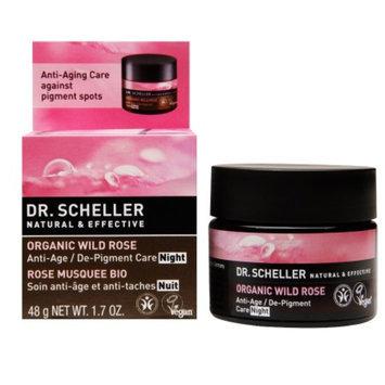 Dr. Scheller Anti-Age / De-Pigment Night Care, Organic Wild Rose, 1.7 oz