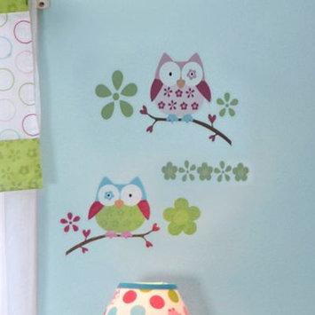 Taggies Owl Crib Wall Decals
