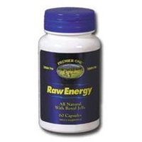 Raw Energy 500mg Premier One 60 Caps