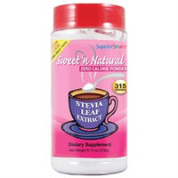 Sweet 'n Natural Stevia Powder, 9.73 oz, Superior Source