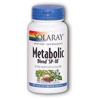 Solaray Metabolic Blend Sp-18 - 100 Capsules - Menopause Support Herbs