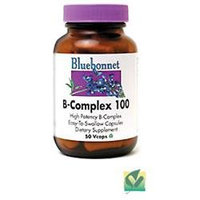 Bluebonnet Nutrition - B-Complex 100 High Potency - 50 Vegetarian Capsules