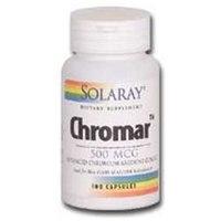 Solaray Chromar 500 MCG - 100 Capsules - Other Minerals