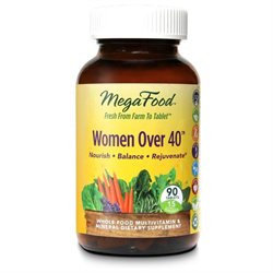 MegaFood - Women Over 40 Multivitamin - 90 Tablets