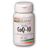 Solaray Co Q 10 120 MG - 30 Capsules - CoQ-10 / Ubiquinol