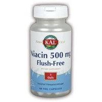 KAL Flush-Free Niacin 500 MG - 60 Capsules - Niacin