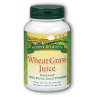 Solaray Wheat Grass Juice 1000MG - 90 Veggie Caps - Wheat Grass