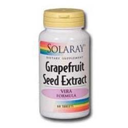 Solaray Grapefruit Seed Extract Vira Formula - 250 mg - 60 Tablets