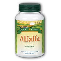 Solaray Alfalfa 500 MG - 120 Tablets - Other Green / Super Foods