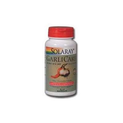 Solaray GarliCare with Cool Cayenne - 30 Capsules