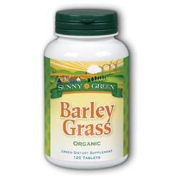 Solaray Barley Grass 500mg Sunny Green 120 Tabs