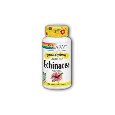 Solaray Organic Echinace - 100 Capsules - Other Herbs