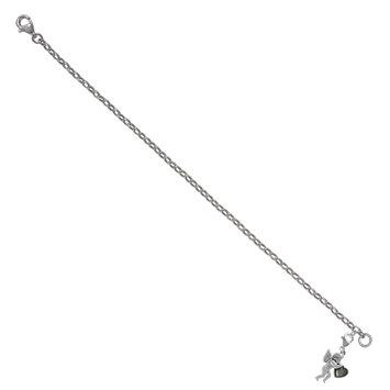 Mac's Holding Heart Cupid Charm Bracelet