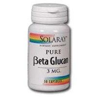 Solaray - Beta Glucan 3 mg. - 30 Capsules