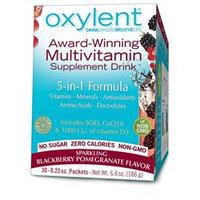 Vitalah Oxylent Oxygenating Daily Multivitamin Drink Sparkling Blackberry Pomegranate - 30 Packets