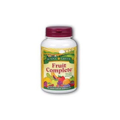 Solaray Fruit Complete W/Fiber Enzymes Key Actives - 60 Capsules - Acai / Super Juices